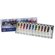 Cotman Water Colour Tube Set - 12 x 8ml Tubes