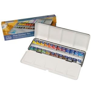 Cotman Water Colour Metal Sketchers Box