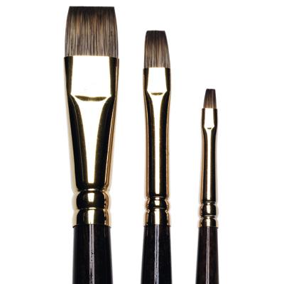 Monarch Short Flat/Bright Brushes, long handle