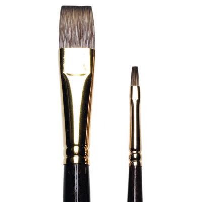 Monarch Long Flat Brushes, long handle
