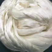Silk Fibres - Undyed