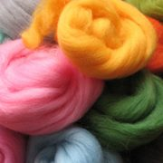 Fibrecrafts Dyed Wool Fibres