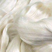 Undyed Silk Fibres