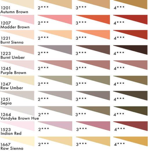 Daler Rowney Soft Pastels - Earth Tones