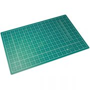 Green Self Sealing Cutting Mat - A3