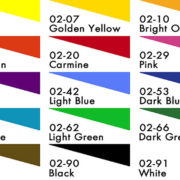 Deka Transparent, 125ml Colour Chart