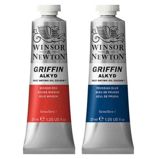 Griffin Fast Drying Oil Alkyd Colours, 37ml