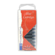 Manuscript Calligraphy Ink Cartridges 12 Blue