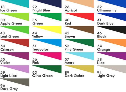 Stabilo Point 88 Pen Colours