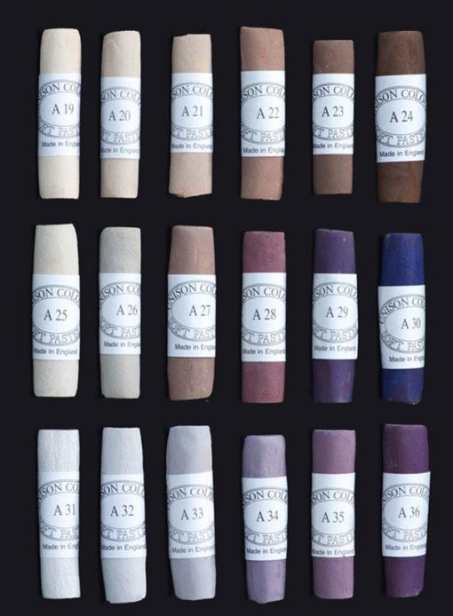 Unison Colour Soft Pastels - Additionals Colours