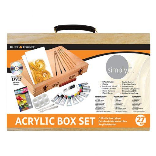 Simply Acrylic Wooden Box