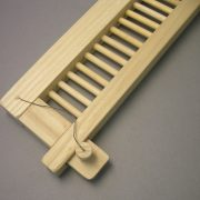 Raddle for loom weaving