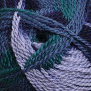 Ashford Tekapo DK random dyed wool yarn - Aquamarine