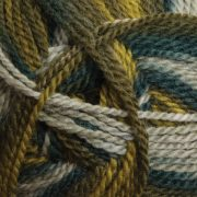 Ashford Tekapo DK random dyed wool yarn - Evergreen