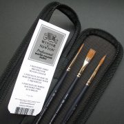Professional watercolour Sable Brush Set 3 brush