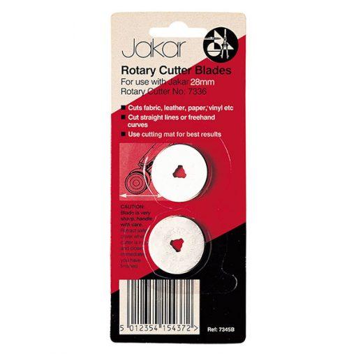 Rotary cutter blades - straight cut 28mm
