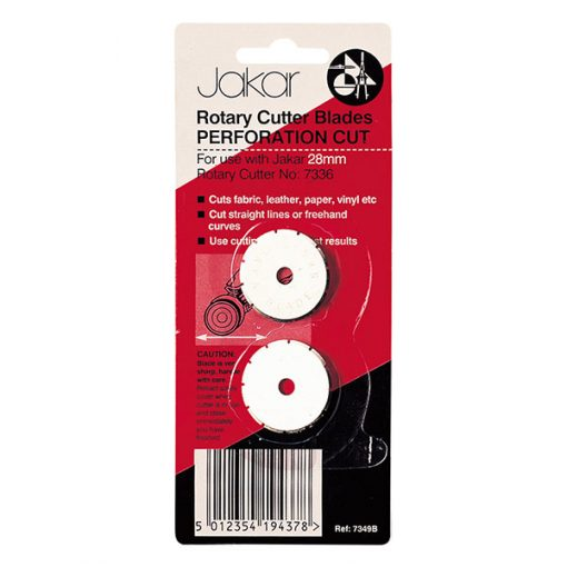 Rotary cutter blades - perforation cut 28mm