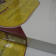 Loxley Gold Chunky Stretched Artists Canvas edges