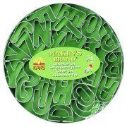 Makins Alphabet Cutter Set -26 pieces