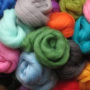 Dyed Merino Wool Tops