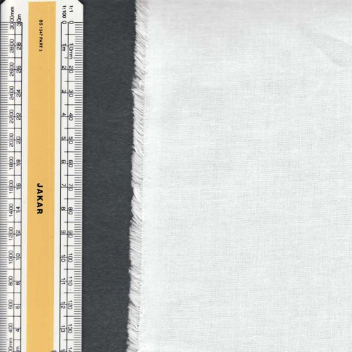 Bleached Calico Cotton, roll 90cm x 50m