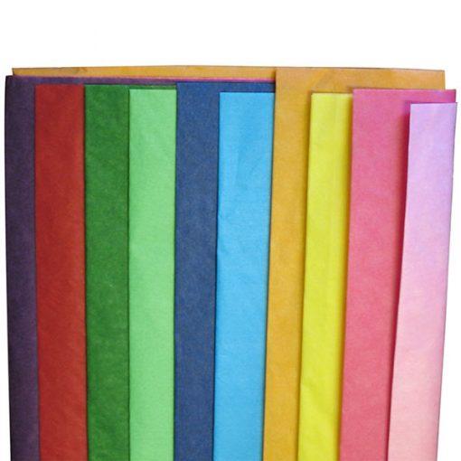 20 sheet Tissue Paper Assortment Bright