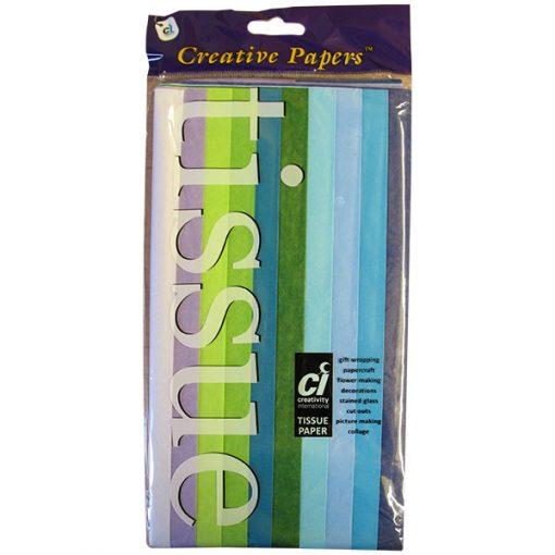 Tissue Paper Assortment - Cool