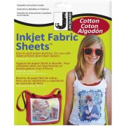 Jacquard Ink Jet Cotton Fabric Sheets (10)