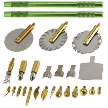 Makins Professional Clay Tool Set contents