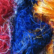Dyed Silk Mill Waste
