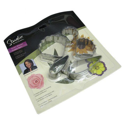 Studio by Sculpey Shape Makers Floral Set 1