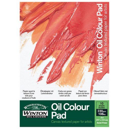 A4 Winton Oil Paper Pad