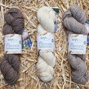 Aran Wool Yarns Natural