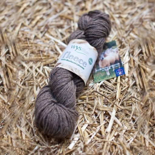 Bluefaced Leicester Aran Yarn - Natural Brown