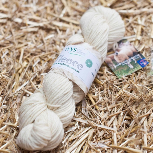 Bluefaced Leicester DK Yarn - Natural Ecru
