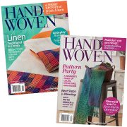 Handwoven Magazine - subscription 5 issues/year