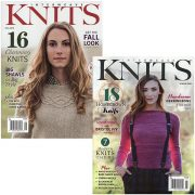 Interweave Knits Magazine - subscription 4 issues/year
