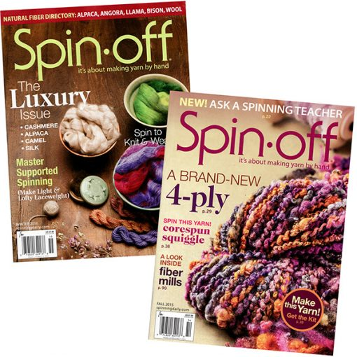 Spin Off Magazine - subscription 4 issues/year