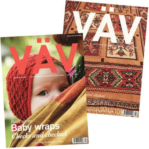 Vav Magasinet Weaving Magazine - subscription 4 issues/year