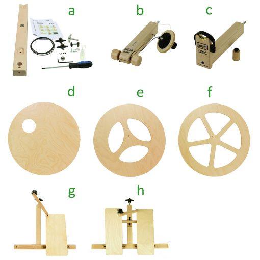 Louet S10 Concept Wheel Components