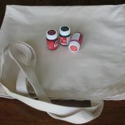 Canvas shopping bag for painting