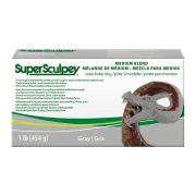 Super Sculpey Medium Blend Grey 454g