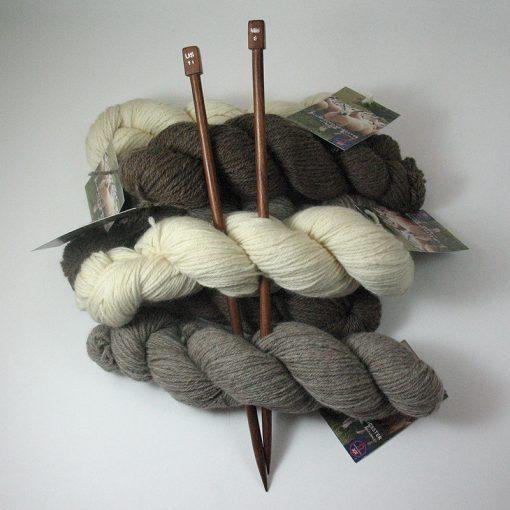 Wooden Knitting Needles 8mm
