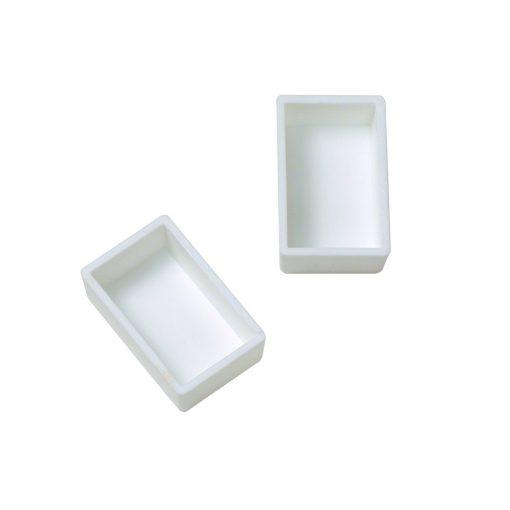Plastic empty whole pans for paints