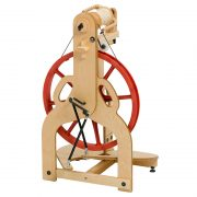Schacht Ladybug Spinning Wheel back