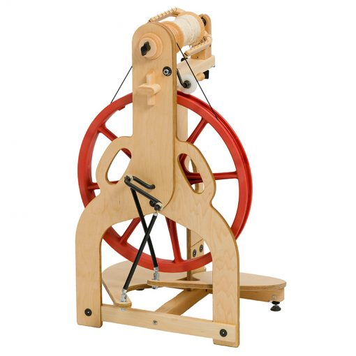 Schacht Ladybug Spinning Wheel back