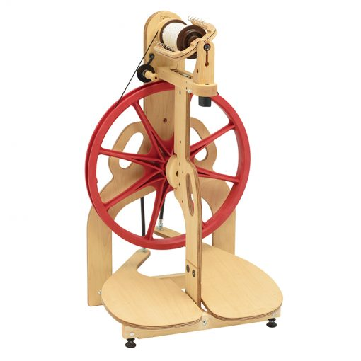 Schacht Ladybug Spinning Wheel front