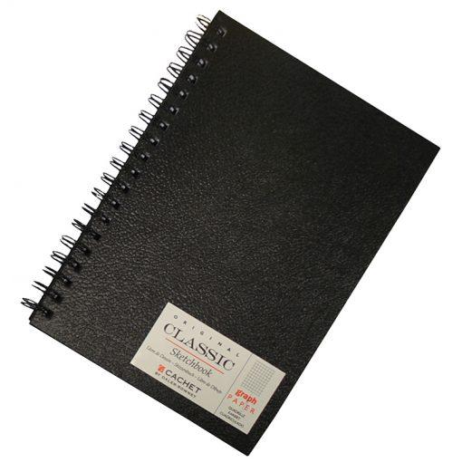 Cachet Sketchbook Graph Paper 7 x 10 inch