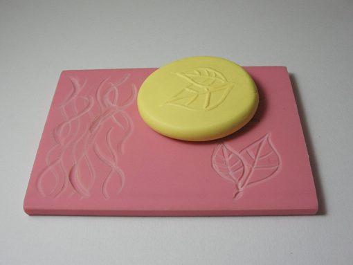 Speedball Speedy Carve Block for texturing polymer clay