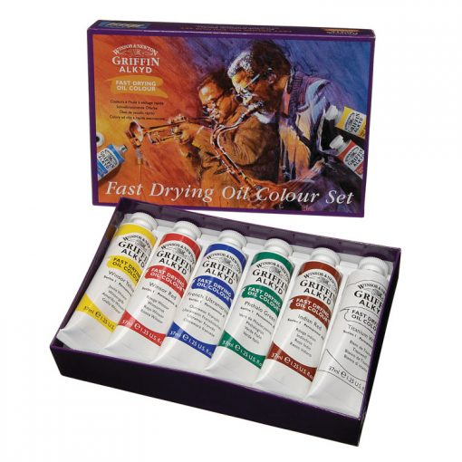 Griffin Alkyd Fast Drying Oil Colour Set 6 X 37ml